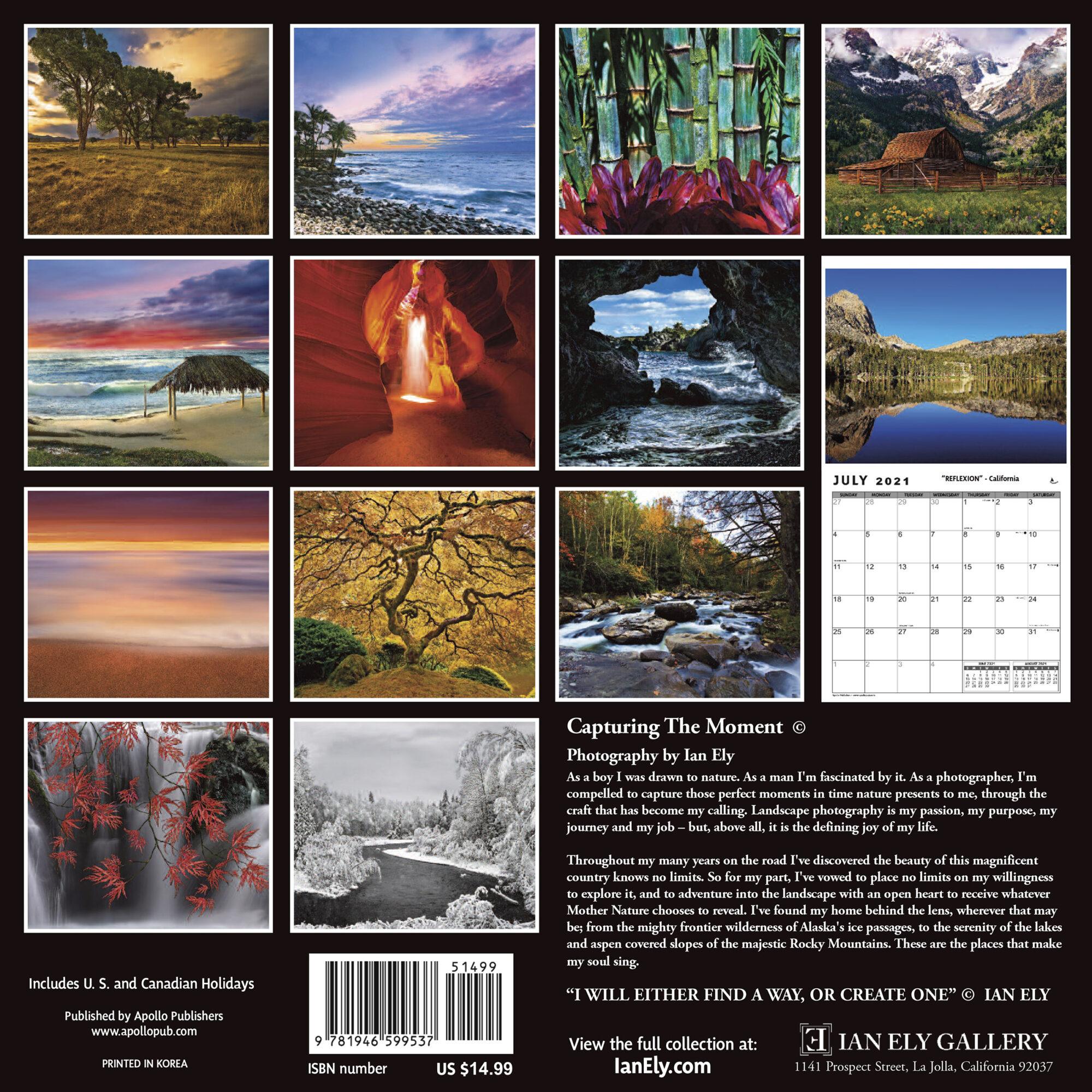 Ian Ely Calendar 2021 Sample